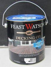 FEAST&WATSON 4 LITRE DECKING-OIL EXTERIOR JARRAH colour