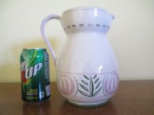 L'Antica Deruta Italy, Two Quart Pitcher - Numbered, by Majilly