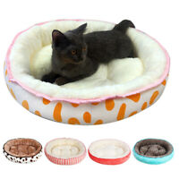 HOT Pet Warm Plush Sleep Bed House For Cat Puppy  Bed Soft Cushion Winter
