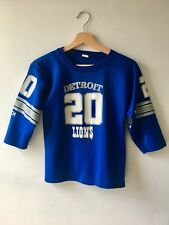 Vintage 90s Detroit Lions American Football Jersey Top Size 8