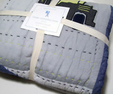 Pottery Barn Kids Multi Colors Colby Construction Vehicles Twin Quilt New