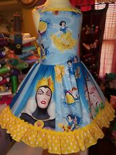 Snow White and seven dwarfs Back to School   Girls dress Size 3t/4t Ready Ship