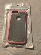iPhone 7 Gray And Pink Rubber & Hardshell Smart Phone Case Brand-New In Package