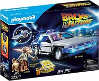 Playmobil 70317 Back to the Future DeLorean Playmobil characters