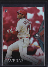 2014 BOWMAN PLATINUM RUBY RED RC OSCAR TAVERAS #96 CARDINALS ONLY 1 PER BOX