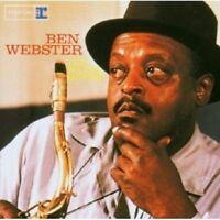 BEN WEBSTER - THE WARM MOODS CD JAZZ 12 TRACKS NEW