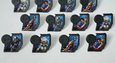 12 Marvel Black Panther Movie Cup Cake Rings Topper Party Goody Bag Favor Supply