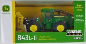 ERTL 1/50th John Deere 843L-II Feller Buncher Prestige Collection