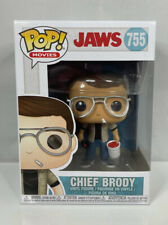 Chief Brody POP Vinyl Figure #755 Funko Jaws Horror New