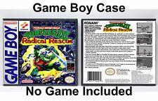 Teenage Mutant Ninja Turtles III: Radical Rescue - Game Boy GB Case - *NO GAME*