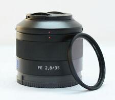 Sony Sonnar T*FE 35mm F2.8 ZA Full Frame Carl Zeiss Lens E-Mount w/ Filter