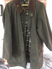 Barbour Gamefair Olive Wax Jacket Size C44/112cm