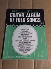 FRANCIS DAVIS - GUITAR ALBUM OF FOLK SONGS No.2 - NOTEN - FRANCIS, DAY & HUNTER