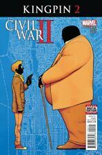 Civil War II Kingpin #2  Marvel comic 1st Print 2016 unread NM
