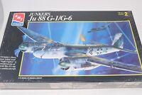 AMT Junkers Ju88G-1/G-6 Night Fighter German WWII Model Airplane Kit 1:72 Sealed