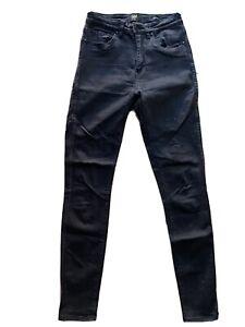 Lee Jeans High Licks Size 9 Black