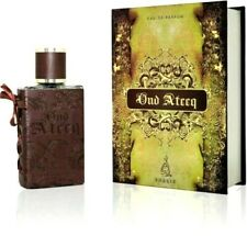 OUD ATEEQ ARABIAN NICE FRAGRANCE VANILLA CARAMEL PERFUME SPRAY 80ML BY KHALIS