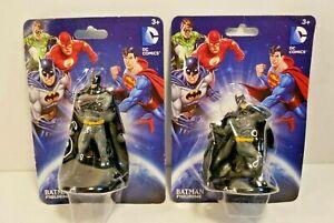 """DC Comics BATMAN STANDING AND KNEELING Fighting Stance Batman 2.75"""" Figurine K1"""