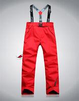 Women's Girl Winter Waterproof Snow Pants Sport Ski Trousers Snowboard Clothing
