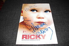 RICKY Lamy, Ozon & Mayance signed Autogramm auf 20x30 cm Bild InPerson RAR