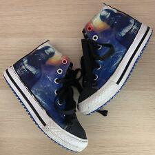 Boys DARTH VADER Skechers Shoes Size 11 Star Wars High Tops Sketchers