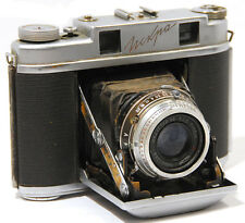 ISKRA  Soviet  Medium format  camera Remade 4.5x6cm