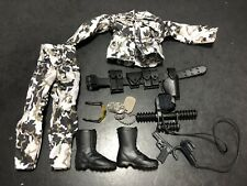 """1/6 Military 12"""" Uniform Clothing Accessories Lot For GI Joe Or Other Fig 081"""