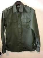 Mens Small Carharrt Military Shirt Designer Olive Carharrt Shirt 100% Cotton