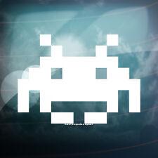 Space Invaders coche divertido Ventana Pared Laptop, Ipad Jdm deriva Vinilo calcomanía adhesivo