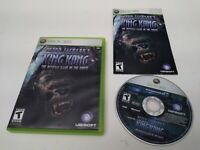 Peter Jackson's King Kong: The Official Game of Movie Xbox 360 RARE Complete VGC