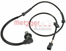 Sensor, Raddrehzahl für Bremsanlage Vorderachse METZGER 0900095
