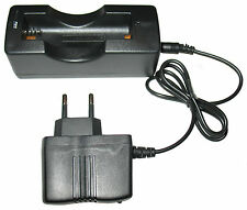18650 3.7V Li-ion Battery Charger Set, Power Adapter+Pod, EU plug, brand new!