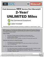 NEW OEM 2009-2010 Ford F-150 LH Master Window Switch - Super, Crew Cab
