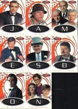 JAMES BOND 40th Anniversaire Jeu de 8 LETTRES CARTES