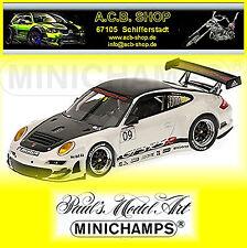 Porsche 911 997 GT3 RSR Présentation 2009 #09 1:43 Minichamps
