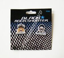 BLACK ROCK SHOOTER CHARIOT & STRENGTH METAL PIN SET GENUINE LICENSED NEW 50051