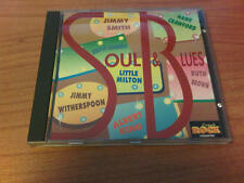 CD SOUL & BLUES JIMMY SMITH LITTLE MILTON ALBERT KING RUTH BROWN COMPILATION