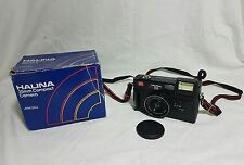 Halina MW35G 35mm Compact Film Camera With Case Boxed Lomo Retro Photography
