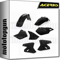 ACERBIS 0007586 PLASTICS KIT BLACK SUZUKI DRZ 400E 2000 00 2001 01 2002 02