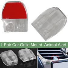 2x Car Grille Deer Animal Warning Sonic Whistle Repeller Alert Alarm Safe Guards
