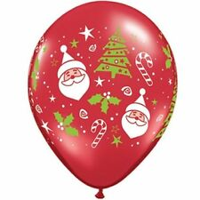 Qualatex 10-50 Christmas Party Balloons