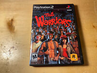 The Warriors (Sony PlayStation 2, 2005) Complete w/Manual Tested PS2