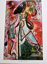 Jackson Pollock The Moon Woman 1924  Offset Lithograph 14X11