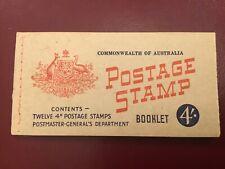 ICOLLECTZONE Australia Booklet 12 294A Claret VF Mint (2 Panes)