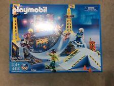 Playmobil 4414 Skate Park with Skateboarders New in Box!