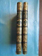 HISTOIRE DE MANON LESCAUT. Jouaust, 1874. 2 vol. plein maroquin bleu de David.