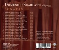 SCARLATTI:SONATAS - RENIERO,NICOLA   CD NEW SCARLATTI,DOMENICO