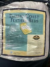 Pacific Coast Feather Bed - King - White -Open Box Item