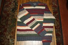 MINT VINTAGE ABERCROMBIE AND FITCH MULTI COLORED SWEATER RARE MUST SEE!!!!