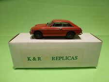 METAL BUILT KIT ACE 12 K&R REPLICAS MG B GT MKII 1:43 - RARE SELTEN - IN BOX